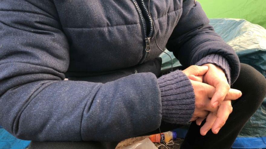 پناهجوی ایرانی در کاله: دست کم بیاید بچههای ما را ببرید