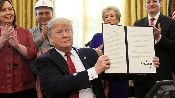 Trump: Başkanlığı seviyorum ancak para kaybediyorum