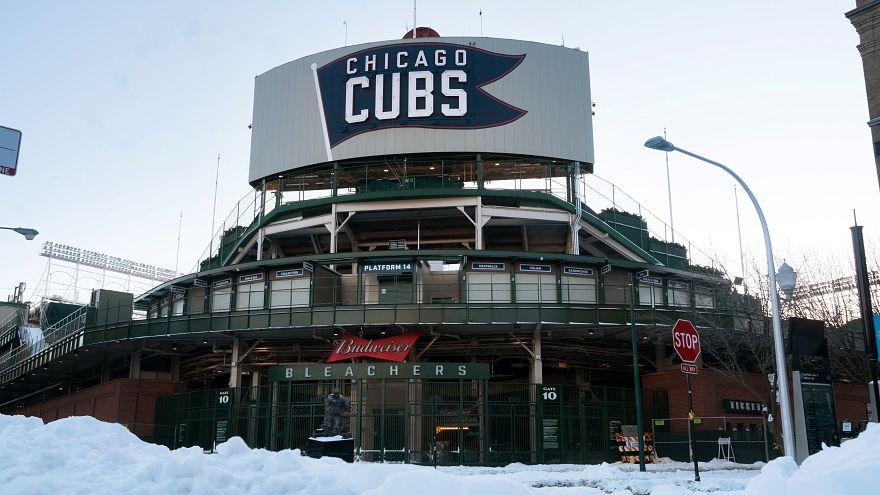 درجات الحرارة في شيكاغو وصلت حد الصقيع