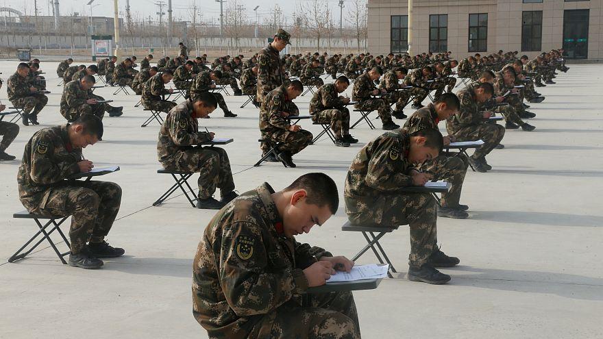 Çin'in Doğu Türkistan'da görevlendireceği paramiliter güçler