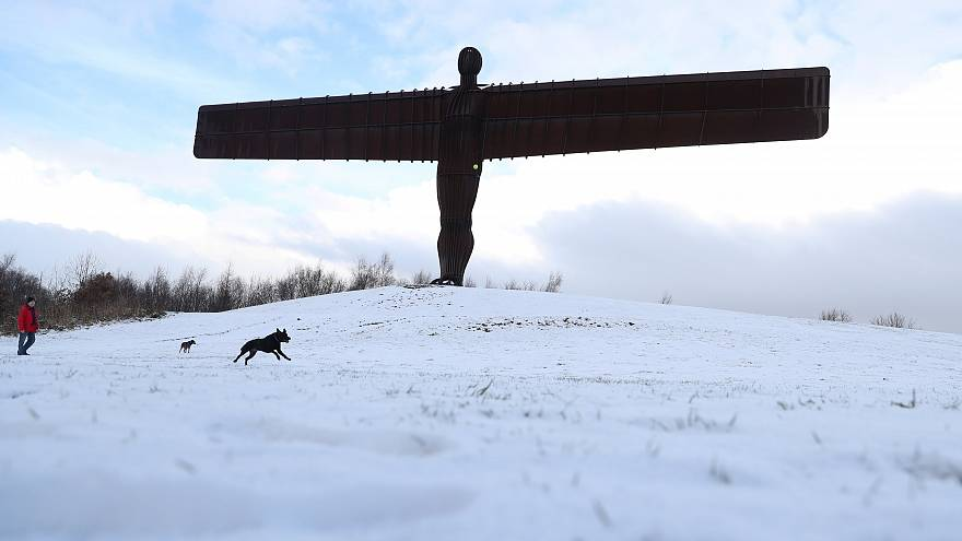 Big freeze: Cold weather and snow to sweep western Europe this weekend