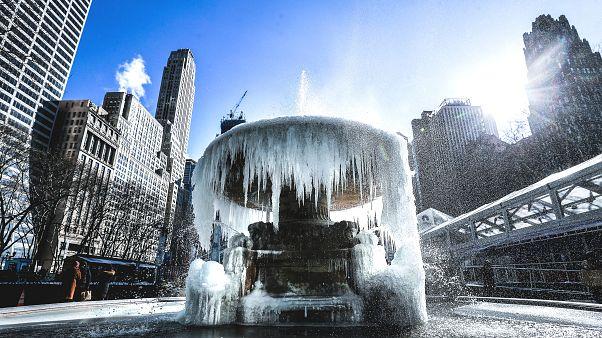 ABD'de aşırı soğuk havalara sebep olan 'kutup girdabı' nasıl oluşuyor?