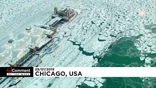 ABD: Kutup girdabı soğukları yaşamı felç etti