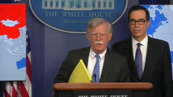 Bolton: Venezuela'ya çok yakında askeri müdahaleyi düşünmüyoruz, ama bütün seçenekler masada