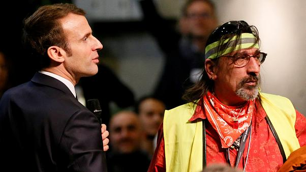 Macron: 'I'm also a gilet jaune if it means believing in higher pay and more effective parliament'
