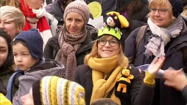 München: Protest gegen Bienensterben