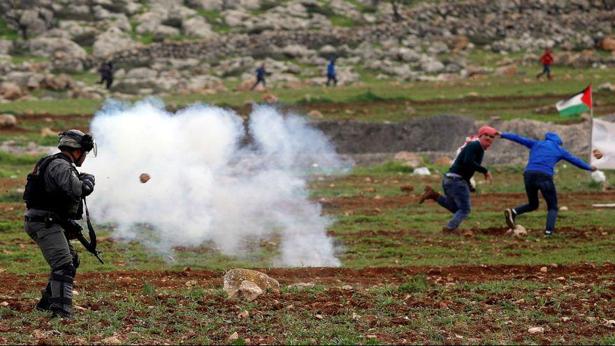 Des heurts dans un village de Cisjordanie