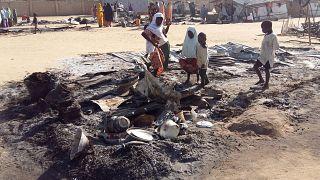 بعد انسحاب الجيش بوكو حرام تقتل 60 على الأقل في هجوم على بلدة بنيجيريا