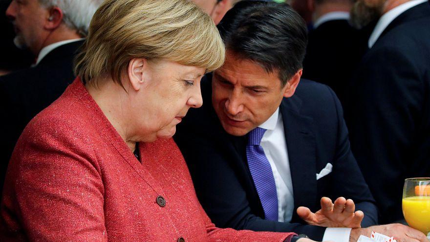 """Video aufgetaucht! Conte zu Merkel: """"Salvini ist gegen alle"""""""
