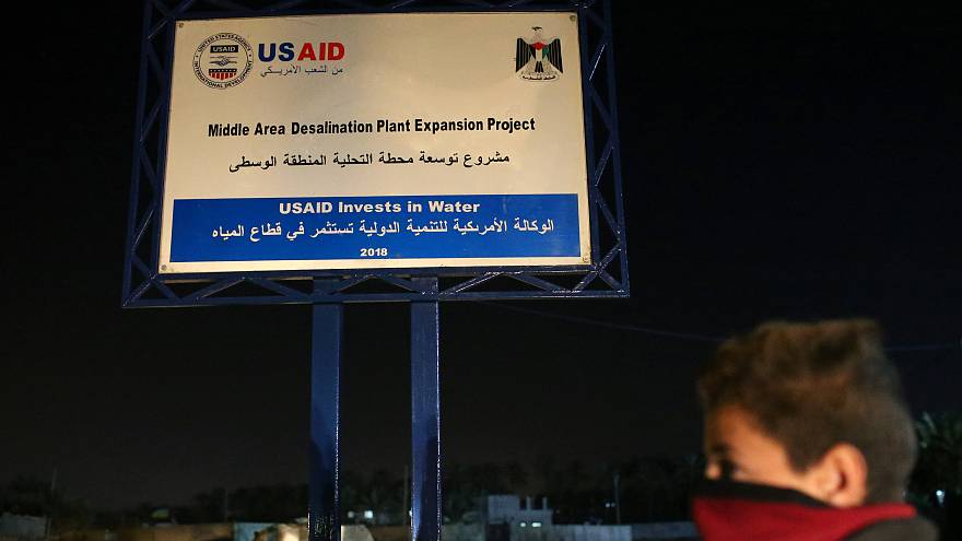 US cuts all aid to Palestinians in the occupied West Bank and Gaza