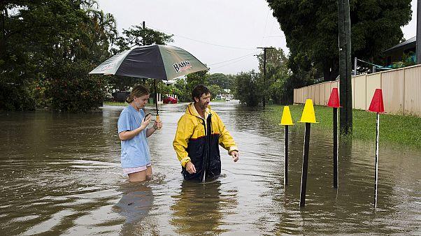 الفيضانات في أستراليا