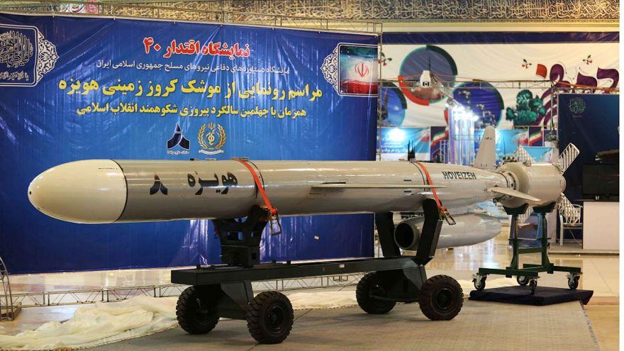 """صاروخ إيراني جديد """"هويزة"""" أرض-أرض طويل المدى"""