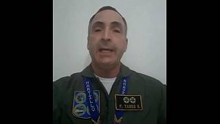 ژنرال فرانسیسکو یانز، فرمانده ارشد ارتش ونزوئلا به گوایدو پیوست