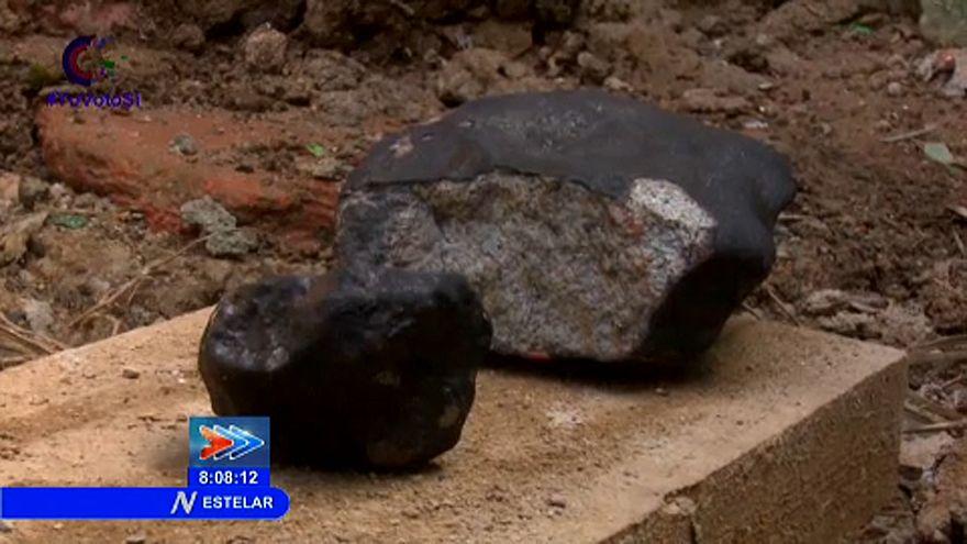 Un meteorito fragmentado cae en Cuba