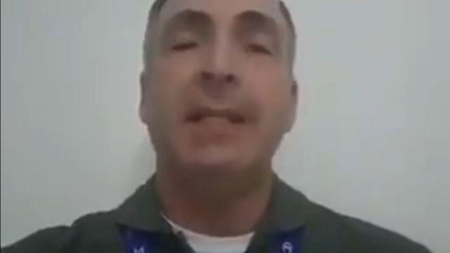 Este es el vídeo del general que ha jurado lealtad a Guaidó como presidente de Venezuela