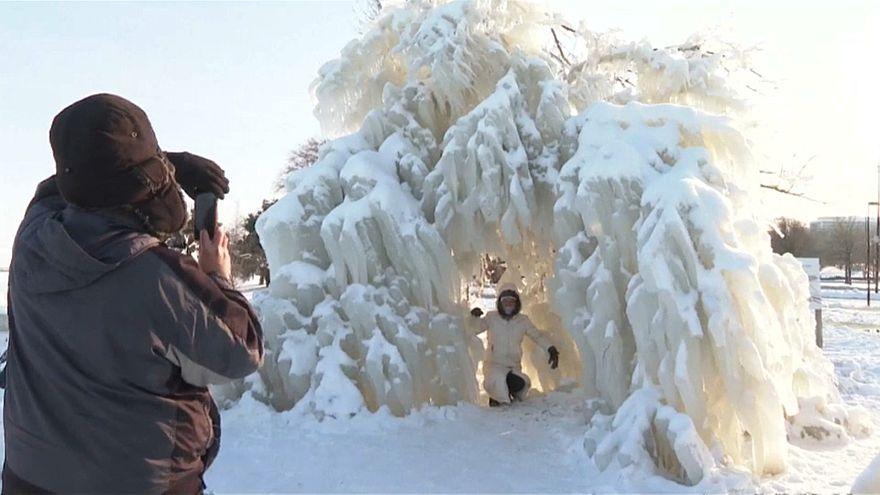 EEUU: tras la ola de frío glacial, el miedo a las inundaciones