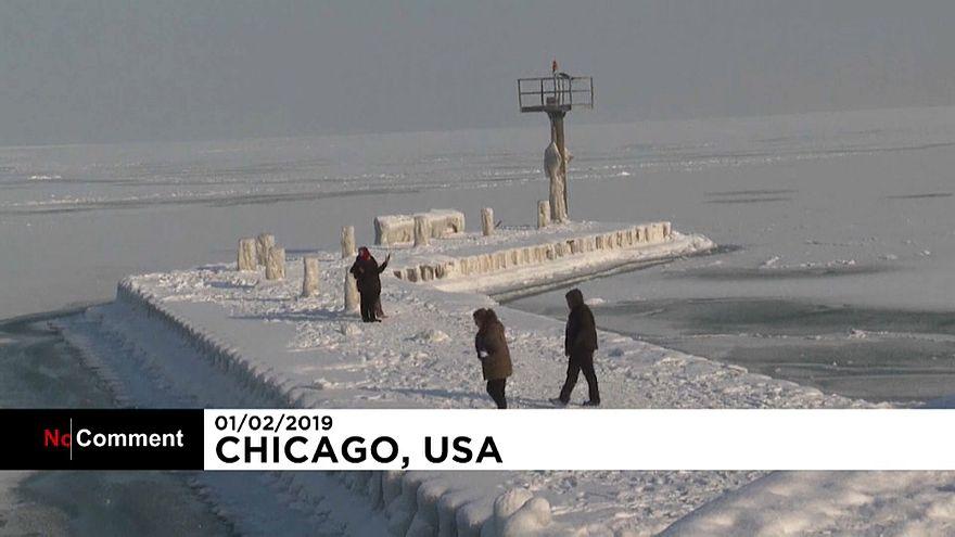 هراس از سیل پس از پایان یخبندان در آمریکا