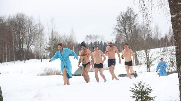Estonya'da sıra dışı bir yarış: Sauna Maratonu