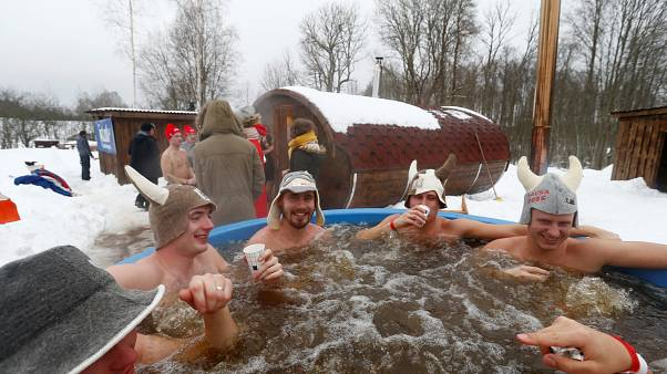 Get ready, set, run to the sauna: Estonia holds annual sauna marathon