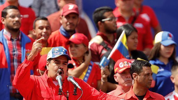 Polémica en las redes: ¿Había tanta gente apoyando a Maduro como se veía en las imágenes?