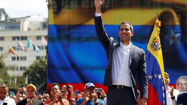 """Venezuela : Guaido veut continuer """"jusqu'à la fin de l'usurpation"""""""