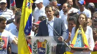 Präsidentenchaos in Venezuela: Guaidó wirbt um Unterstützung aus dem Ausland