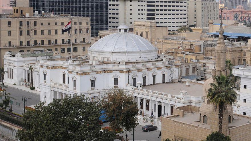 منظر عام لمجلس النواب المصري في القاهرة في صورة من أرشيف رويترز.