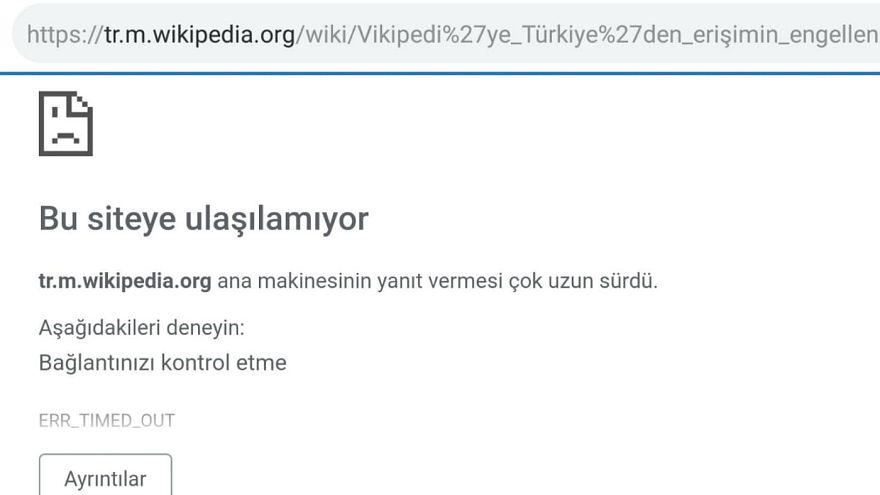 Türkiye'de engellenen site sayısında 2013'ten beri 'dramatik' artış