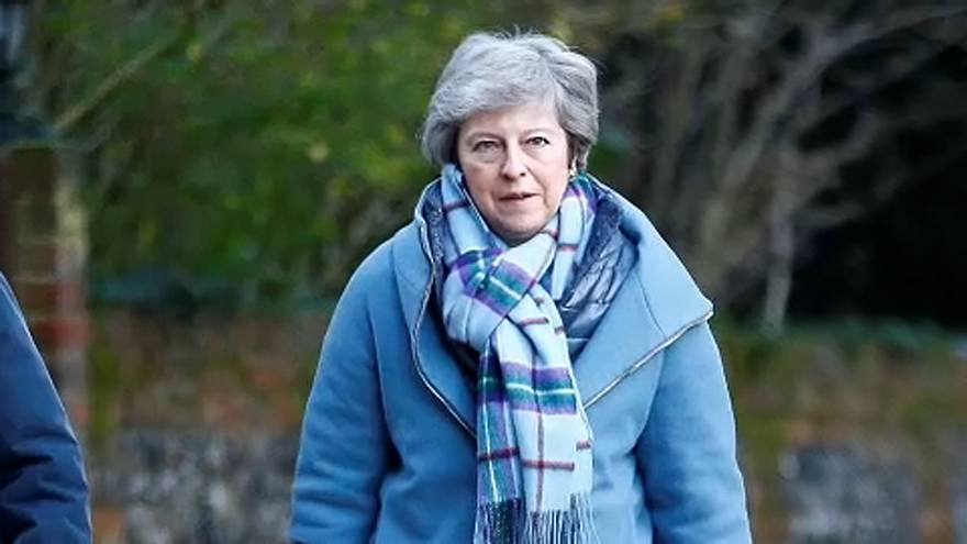May, decidida a materializar el Brexit sin retrasos