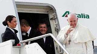 Papa'dan BAE yolculuğu öncesi Yemen mesajı: Aç çocukların feryadı Tanrı'ya ulaşıyor