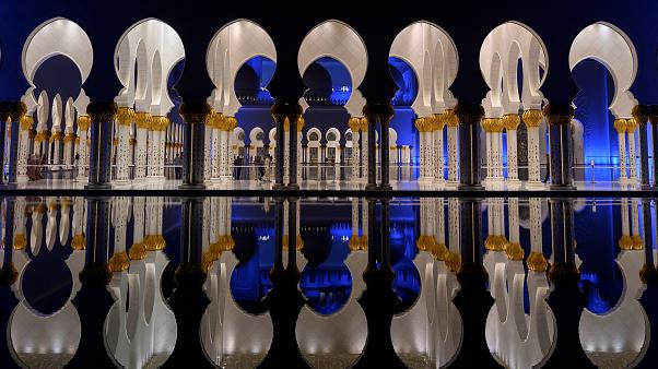 La moschea di Sheikh Zayed