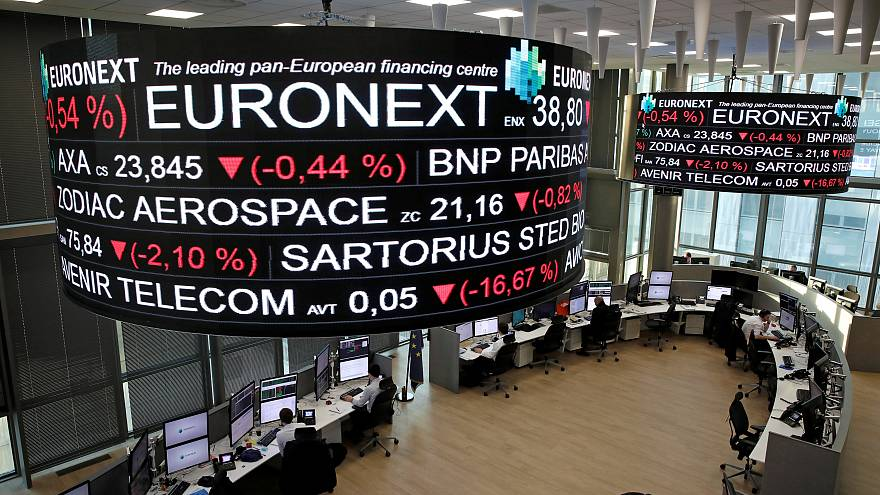 Paris stock exchange, operated by Euronext NV