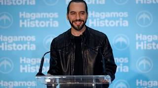 Nayib Bukele, 37 ans, élu président du Salvador