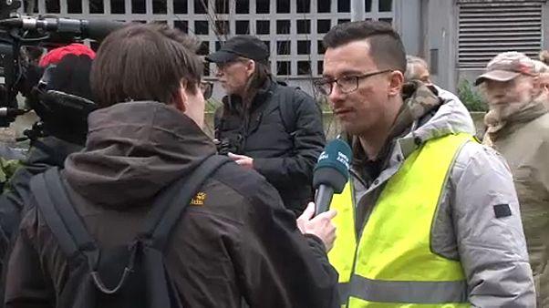 En Allemagne, les gilets jaunes manifestent pour le Diesel