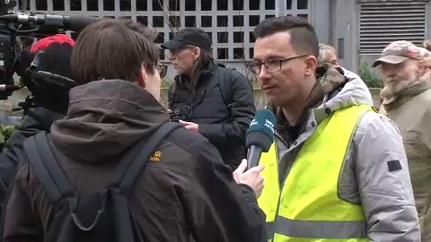 I gilet gialli in Germania sono guidati da un greco