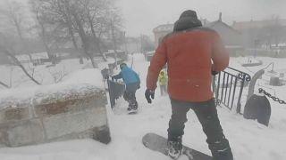 Snowboard-Paradies Briancon