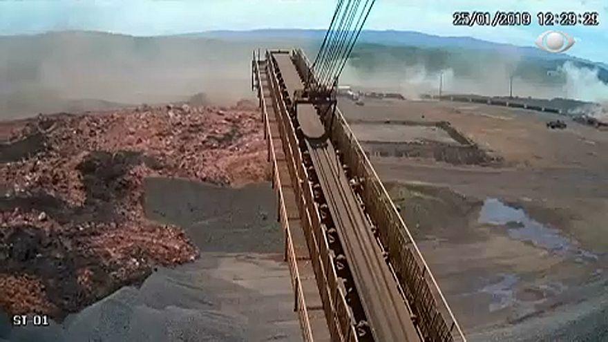 تصاویر فاجعه مرگبار شکستن سد در برزیل
