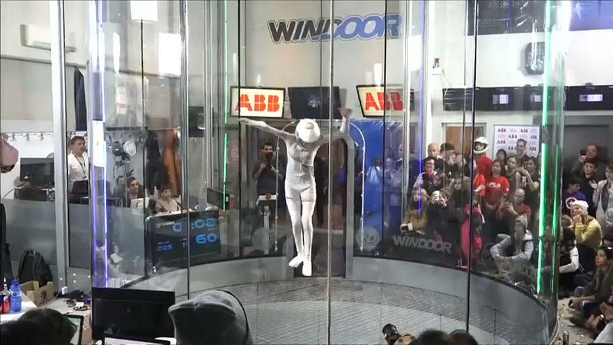 Parachutisme indoor : le freestyle à l'honneur