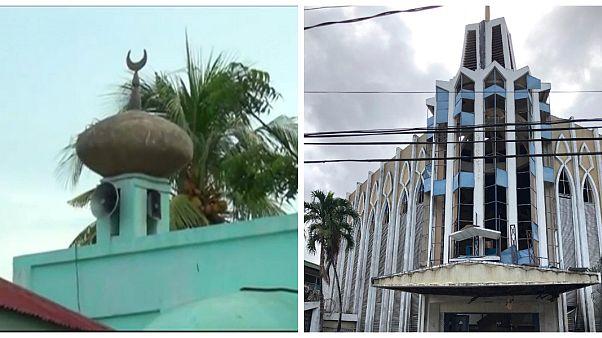 الكنيسة والمسجد اللذان شهدا التفجيرين في الفلبين