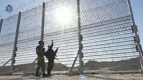 Израиль строит шестиметровый стальной забор на границе сектора Газа