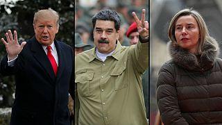 Donald Trump e União Europeia apertam cerco a Nicolás Maduro