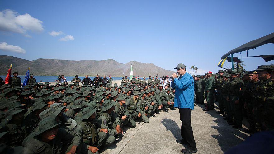 Staatschef Nicolás Maduro warnt vor einem möglichen Bürgerkrieg