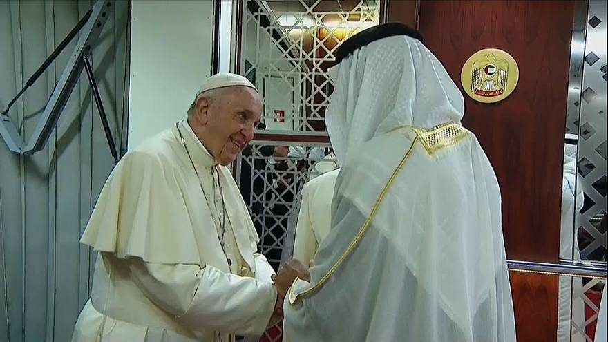 Στα Ηνωμένα Αραβικά Εμιράτα ο Πάπας Φραγκίσκος