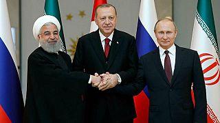 پوتین، روحانی و اردوغان ۲۵ بهمن در سوچی دیدار میکنند