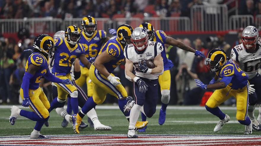 Los Patriots de Brady, campeones de la Super Bowl LIII