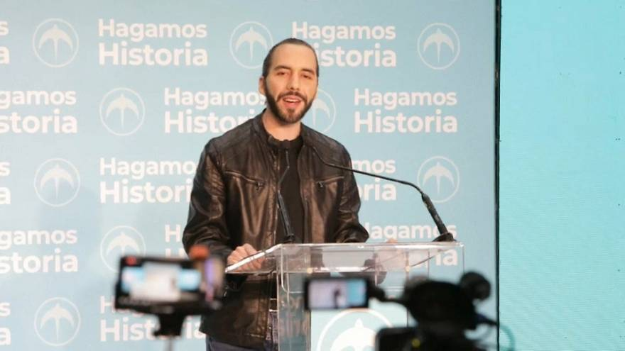El 'millenial' Nayib Bukele gana las elecciones presidenciales en El Salvador