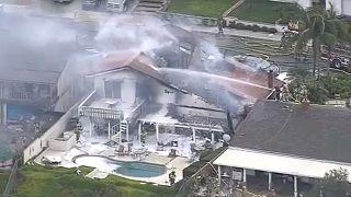 Lakóházra zuhant egy kisrepülő Kaliforniában, öten meghaltak