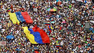 Opposition supporters rally against Venezuelan President Nicolas Maduro