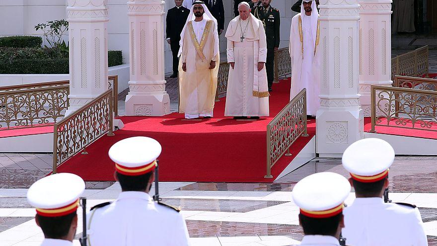Pope Francis begins historic visit in UAE