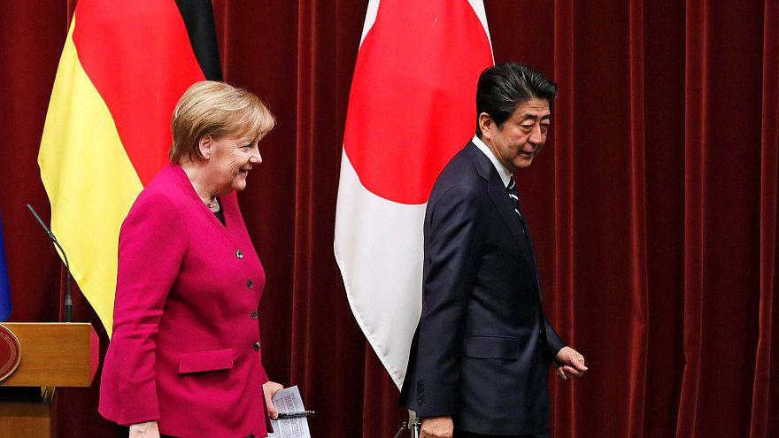 Merkel in Japan: Bekenntnis zum Multilateralismus
